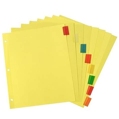 Pen Paper Inter X Folder Index Divider 10 Tabs A4 you ll only understand these 32 photos if you went to high school in the 90s
