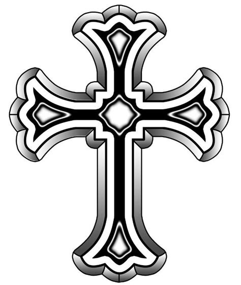 roman cross tattoo catholic cross designs clipart panda free images