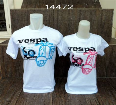 design baju kaos couple design baju couple vespa tentang vespa