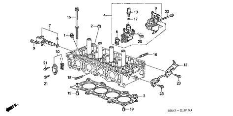 4 cylinder vtec engine diagram 4 free engine image for