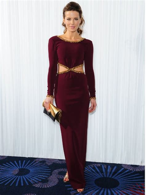 empire beauty school commercial actress kate best kate beckinsale in a cut out maroon gown best and