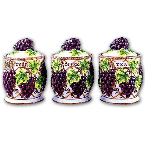 grape canister sets kitchen 17 best images about grape decor on vineyard