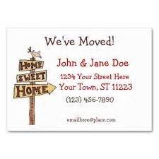 We Moved Cards Templates by 1000 Images About Bungalow Moving House On