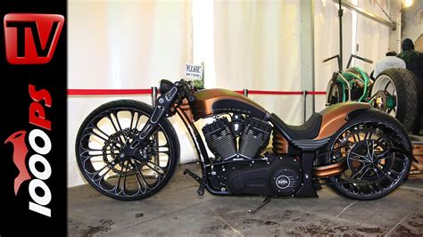 Thunderbike   Harley Davidson Custombike   YouTube