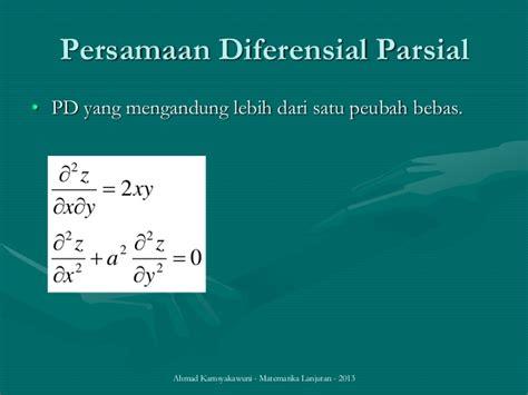 Persamaan Diferensial Biasa persamaan diferensial