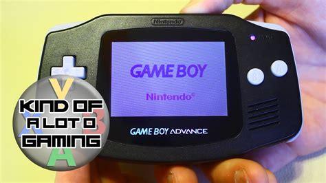 Game Boy Advance Light Mod | gameboy advance backlight mod youtube
