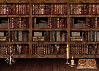 backdrops bookcase background  zoom