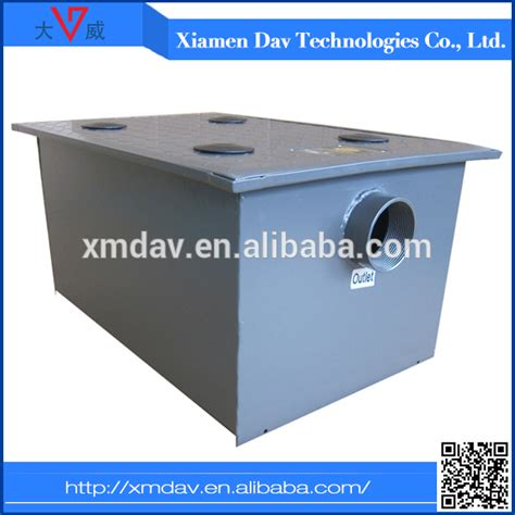kitchen grease trap design grease interceptor for household kitchen waste water