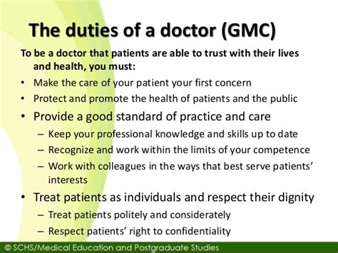 duties of a doctor gmc lecture 9 patients rights 26 10 2016