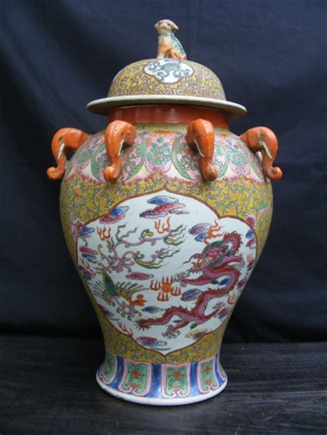 for sale chinese dragon pots for plants lausanne old chinese covered pot ginger jar dragon phoenix for