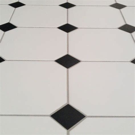 27 black and white octagon bathroom tile ideas and pictures