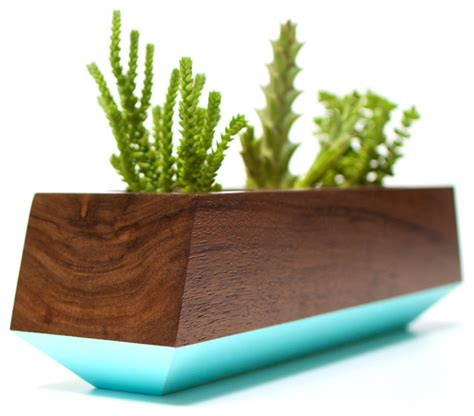 indoor modern planters boxcar planter series modern indoor pots and planters
