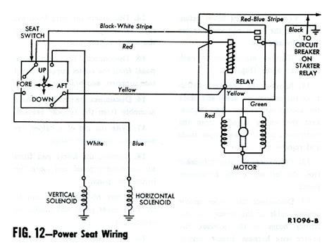 power seat switch wiring diagram wiring diagram with