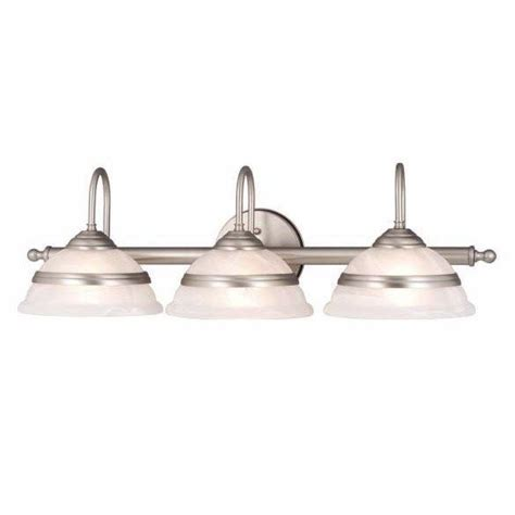 brushed nickel bathroom light fixtures new 3 light bathroom vanity lighting fixture brushed