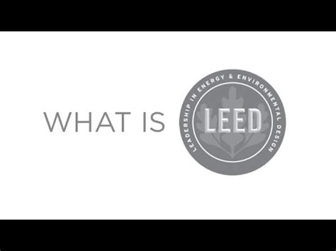 what is a leed certification what is leed youtube