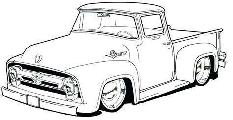 F150 Coloring Page by Ford F150 Coloring Pages At Getcolorings Free