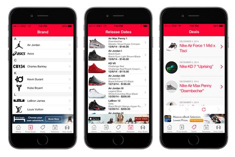 sneaker price guide app new sneaker info app for iphone