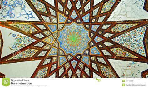 pittura per soffitto pitture murale soffitto persiano con le decorazioni