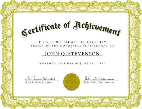 Template Long Service Certificate Template Sle Award Template
