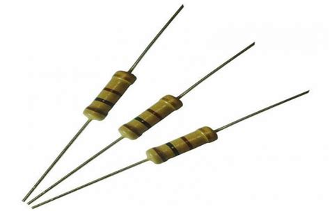 resistor fixed mini 2 watt 820k ohm carbon fixed resistor e24 carbon resistors