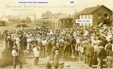 presidenttaft stops in watertown 1909
