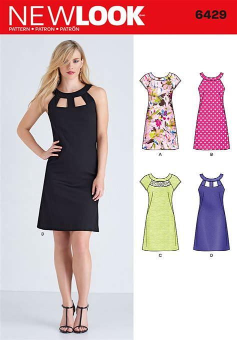 new look new look 6429 misses dresses
