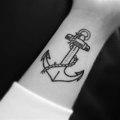 tattoos simple designs simple anchor best design ideas