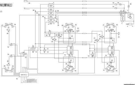 ebs wiring diagram 28 images haldex abs trailer wiring