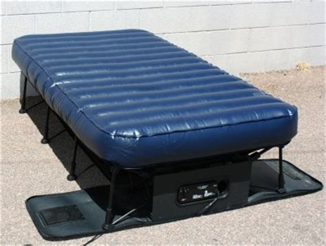 portable twin bed frontgate basic inflatable portable ez bed guest twin ebay