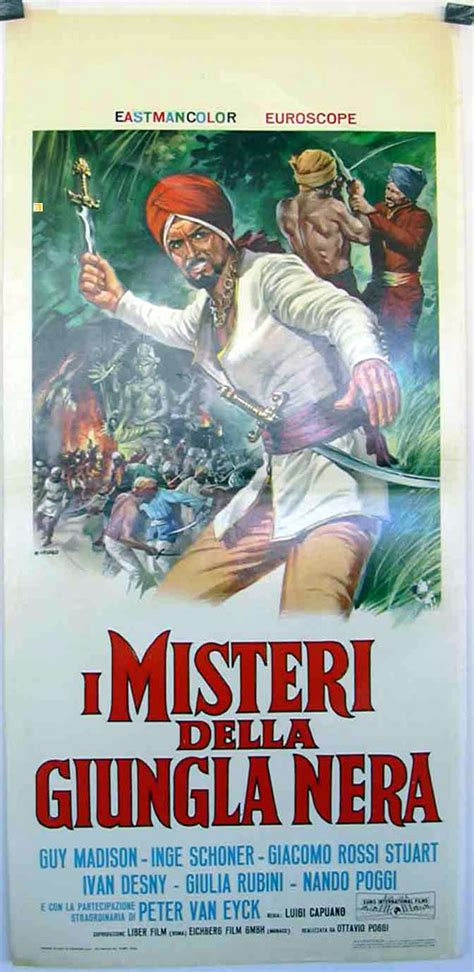 misteri film legion quot el misterio de la selva negra quot movie poster quot i misteri