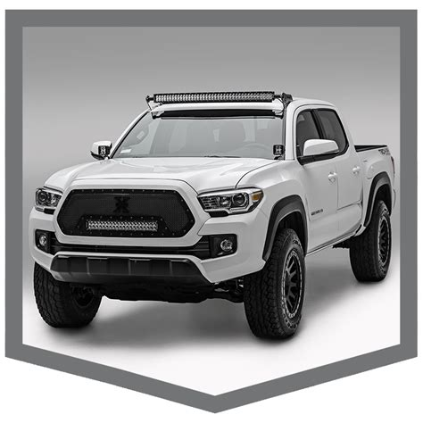 Zroadz Creates Led Mounting Solutions For 2016 Toyota Tacoma Led Light Bar