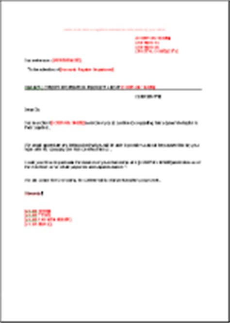 Payment Request Letter From Client Information Request Letter En