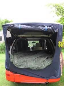 car boot awning tent idea