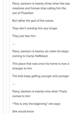 PJO FanDAM: Percy accepts immortality AU 2 | PJO,HOO,MCGA