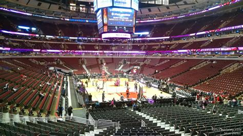 section 116 united center united center section 107 chicago bulls rateyourseats com