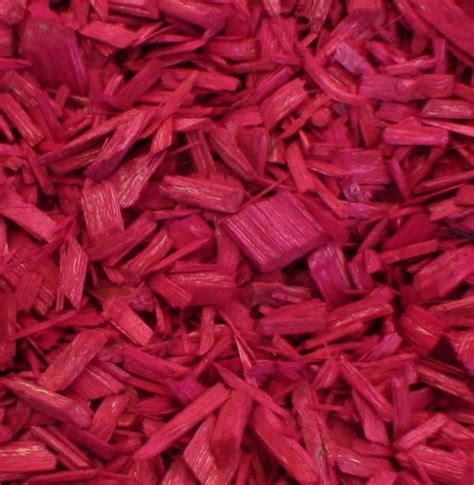 dekor hackschnitzel edelmulch pink 100l dekorhackschnitzel edelmulch