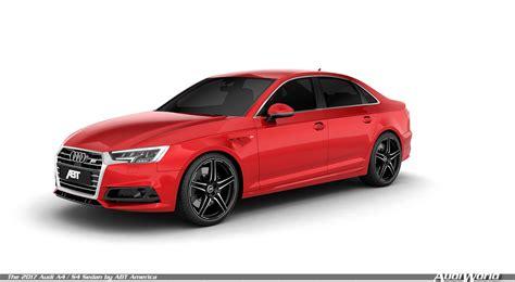 Audi America by The 2017 Audi A4 S4 Sedan By Abt America Audiworld
