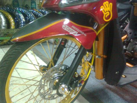 Shock Depan Beat Trusty Scut Quot Standard Customs Quot Mio Sunset