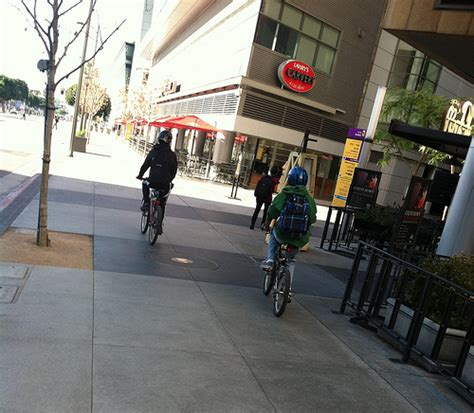 L A County Sidewalk Riding Guide Ladot Bike Blog Sidewalk L Posts