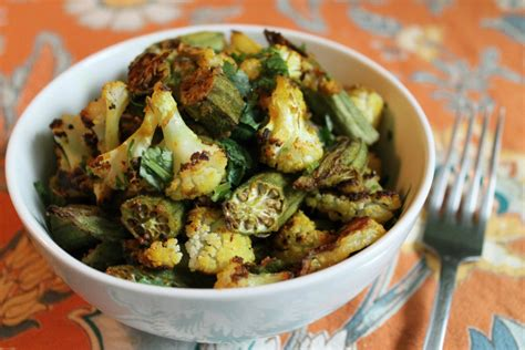 how to cook okra so it s not slimy and all flavor one green planetone green planet