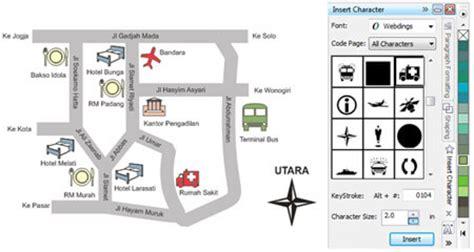 cara membuat qr code peta membuat denah atau peta lokasi