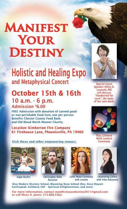 Manifest Your Destiny manifest your destiny holistic expo to be held in