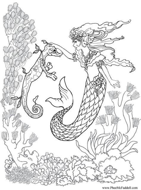 coloring pages with mermaids printable coloring pages mermaid coloring home