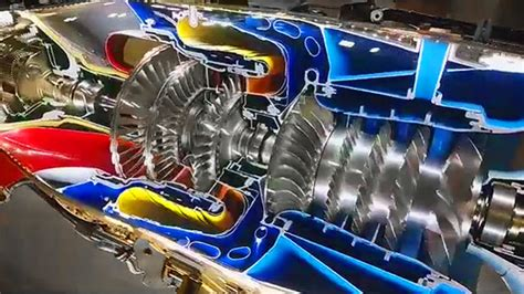 how does the pratt whitney canada pt6 differ from other this full motion cutaway of a pt6 turboprop engine is a