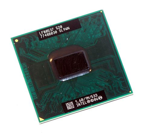 celeron mobile intel lf80537ne0251m celeron mobile 520 1 60ghz socket p