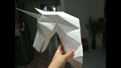 Imagenes De Unicornios En 3d | como hacer un unicornio en 3d youtube