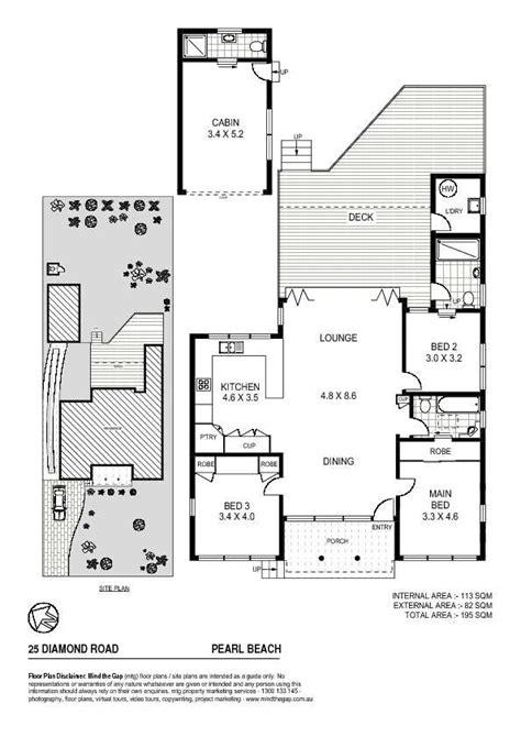 holiday house floor plans holiday house in pearl beach