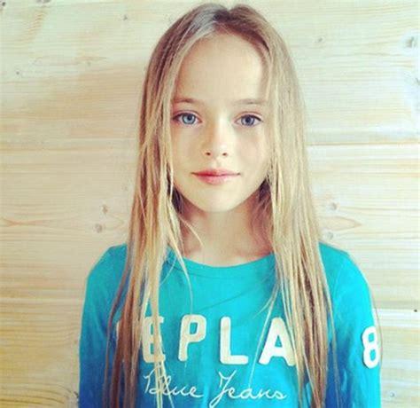 illegal little 12 old models 人文百科 世界最美少女克莉丝汀娜年仅9岁 科技频道 和讯网