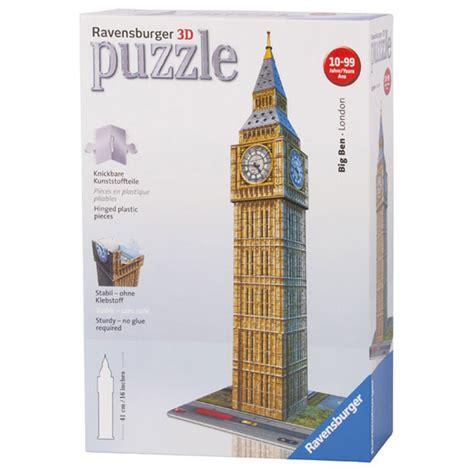 Puzzle 3d Clothes Shop big ben 3d puzzle from ravensburger wwsm