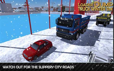 apk loader loader dump truck winter sim apk mod v1 2 apkformod